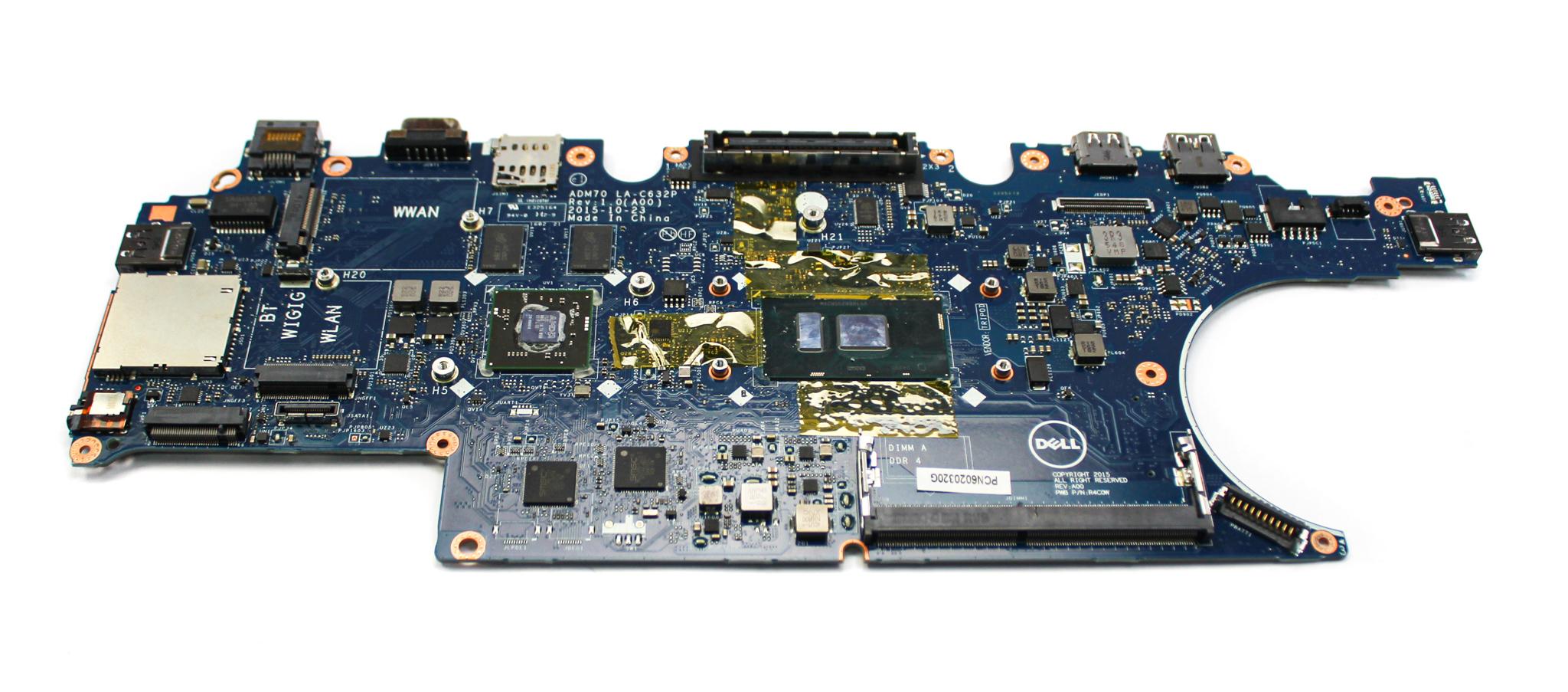 Dell DN9PC Latitude E5470 with Intel Core i5-6300U Laptop Motherboard